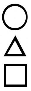 Круг, треугольник, квадрат
